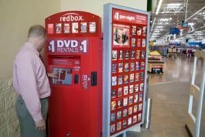 Redbox Walmart Kiosk