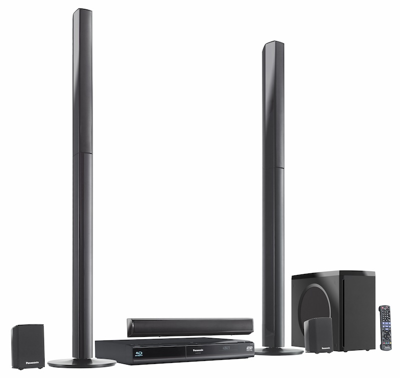 panasonic unveils blu ray 3d home theater systems hugh 39 s news. Black Bedroom Furniture Sets. Home Design Ideas