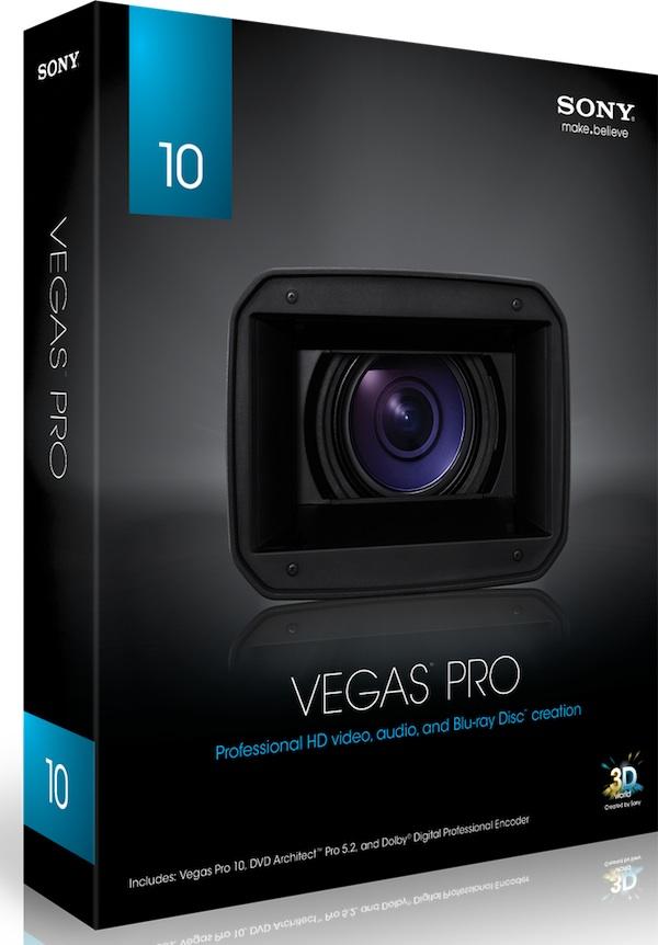 Скачать бесплатно Sony Vegas Pro 10 rus + crack без регистрации.