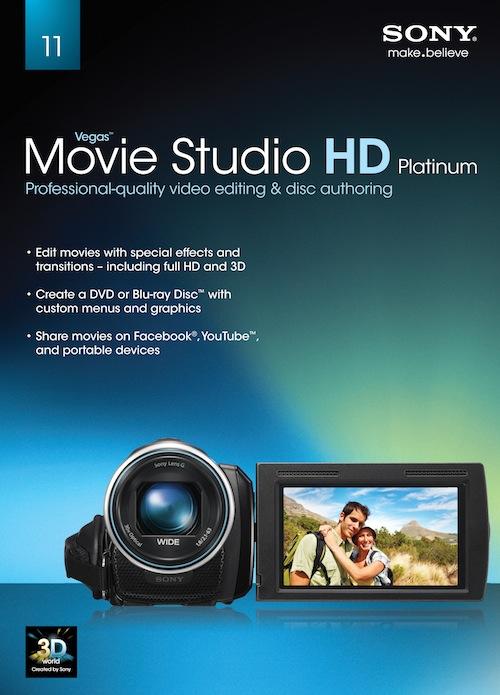sony vegas movie studio hd platinum 11 frys free a mir