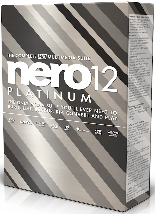 Nero Platinum v.12.0.02000 [MULTI]